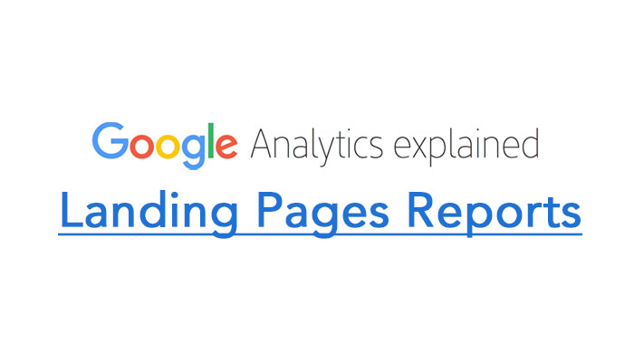 Landing Pages Reports