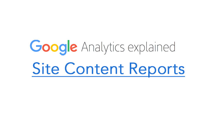 Site Content Reports