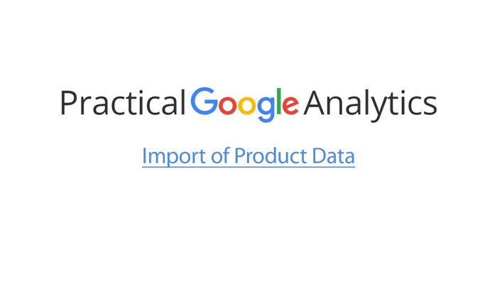 Import of Product Data